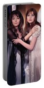 Ingrid Pitt And Madeline Smith Portable Battery Charger