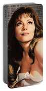 Ingrid Pitt, Vintage Actress Portable Battery Charger