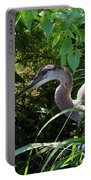 Injure Blue Heron Portable Battery Charger