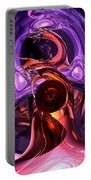 Inner Feelings Abstract Portable Battery Charger