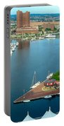 Inner Harbor Baltimore Panorama Portable Battery Charger