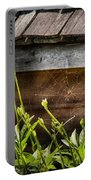 Insect - Spider - Charlottes Web Portable Battery Charger by Mike Savad