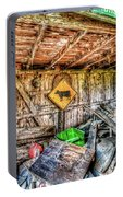 Inside Barn Portable Battery Charger