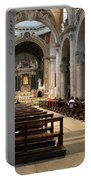 Inside Beautiful Church In Rome Portable Battery Charger