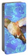 Inside The Flower - Impressionism Finish Portable Battery Charger