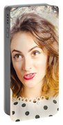 Inspiration Of A Creative Pinup Photographer  Portable Battery Charger