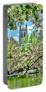 Inspirational - Cherry Blossoms Portable Battery Charger