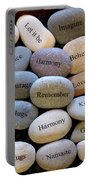 Inspirational Message Stones Portable Battery Charger