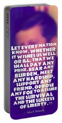 Inspirational Quotes - Motivational - John F. Kennedy 16 Portable Battery Charger