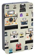 Instant Camera Pattern Portable Battery Charger