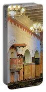 Interior Image Of San Juan Bautista Mission Portable Battery Charger