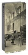 Interior Of The Dining Hall Of The Church Of Santa Maria Delle Grazie Milan Portable Battery Charger