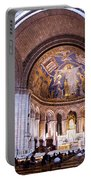 Interior Sacre Coeur Basilica Paris France Portable Battery Charger