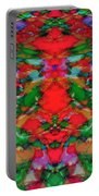 Interlocking Ghosts Red Portable Battery Charger