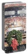 International Christmas Snow Portable Battery Charger