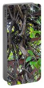 Intertwined Vine Trellis Portable Battery Charger
