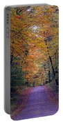 Into Fall Portable Battery Charger