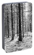Into The Monochrome Woods Portable Battery Charger
