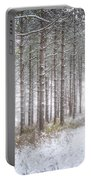 Into The Woods 3 - Winter At Retzer Nature Center  Portable Battery Charger