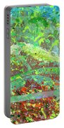 Into The Woods-through The Looking Glass Portable Battery Charger