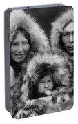 Inupiat Family Portrait - Alaska 1929 Portable Battery Charger