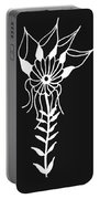 Inverted Small Flower Portable Battery Charger