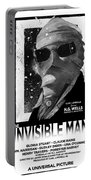 Invisible Man Movie Poster 1933 Portable Battery Charger