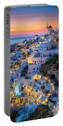 Oia Sunset Portable Battery Charger
