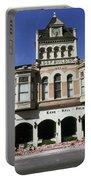 Watsonville I. O. O. F. Building Built In 1893  Damaged By The Loma Prieta Earthquake 1989 Portable Battery Charger