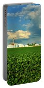Iowa Soybean Farm Portable Battery Charger