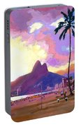 Ipanema Sunset Portable Battery Charger
