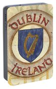 Ireland Coat Of Arms Portable Battery Charger