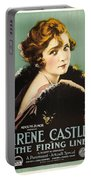 Irene Castle In The Firing Line 1919 Portable Battery Charger