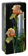 Iris Along The Fence 6731 H_2 Portable Battery Charger