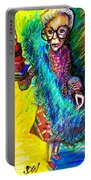 Iris Apfel Portable Battery Charger
