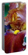 Iris Beauty Photograph Portable Battery Charger