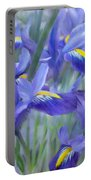 Iris Bouquet Portable Battery Charger