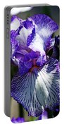 Iris Dressed For Royalty Portable Battery Charger