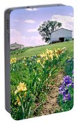 Iris Farm Portable Battery Charger by Steve Karol