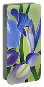 Iris Fields - Center Panel Portable Battery Charger
