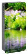 Iris' Reflection Portable Battery Charger