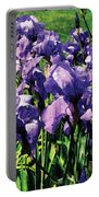 Irises Princess Royal Smith Portable Battery Charger