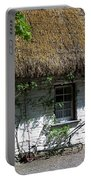 Irish Farm Cottage Window County Cork Ireland Portable Battery Charger