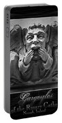 Irish Gargoyles Triptych Portable Battery Charger