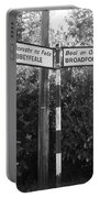 Irish Village Sign County Limerick. Portable Battery Charger
