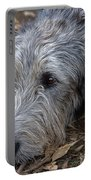 Irish Wolfhound Ivan Portable Battery Charger