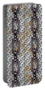 Iron Chains With Metal Panels Seamless Texture Portable Battery Charger
