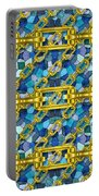 Iron Chains With Mosaic Seamless Texture Portable Battery Charger