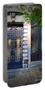 Iron Door Of Brussels Portable Battery Charger
