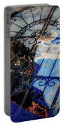Iron Gate Abstract Portable Battery Charger